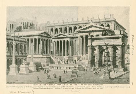 Roman Forum at the time of the Emperors