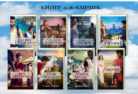 Ashby Light in the Empire vol 1-6 covers