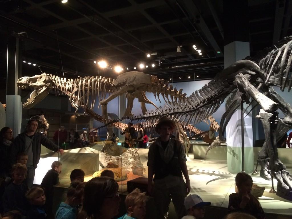 naturhistoriska dinosaurus