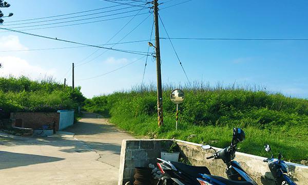 澎湖民宿外的景色