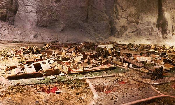 八二三戰史館模型