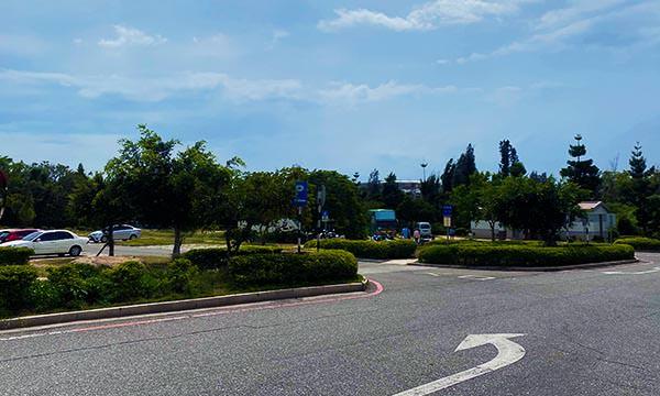八二三戰史館停車場