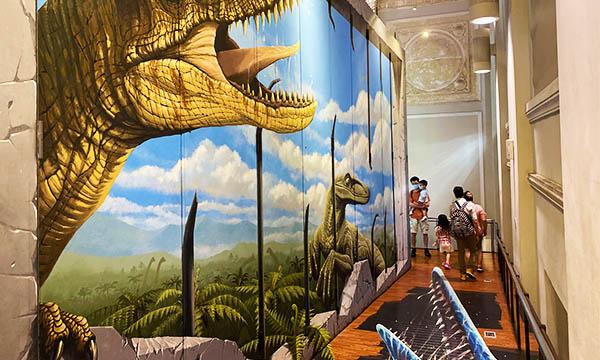 恐龍3D圖