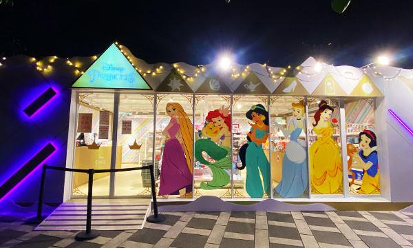新北耶誕城 迪士尼公主快閃店