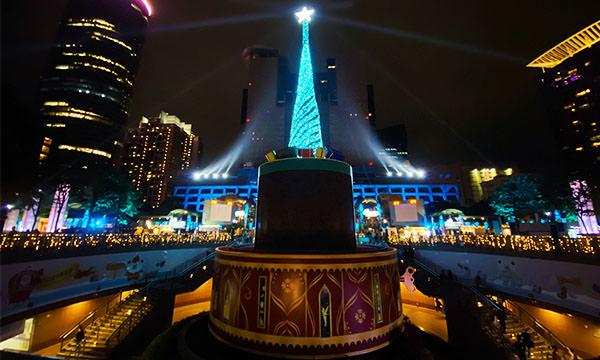 新北耶誕城 主燈 夢幻音樂盒