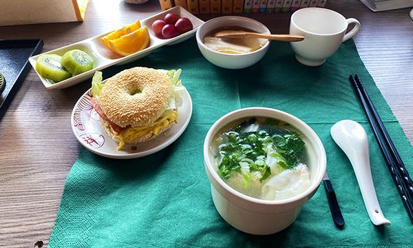 享宿民宿早餐非常豐盛