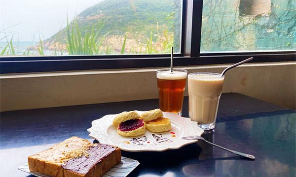 【馬祖美食】刺鳥咖啡書店|12據點坑道上的海角咖啡廳