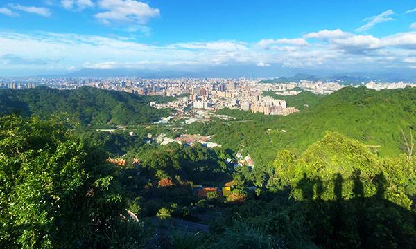 臺北盆地全貌