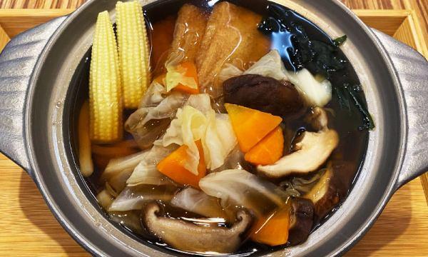 蔬食烏龍麵