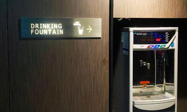 捷絲旅每個樓層都有飲水機