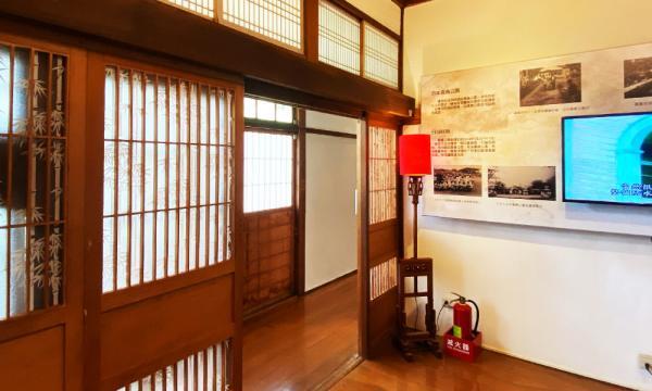 嘉義市史蹟博物館內的介紹