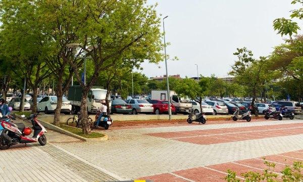 射日塔 嘉義公園停車場