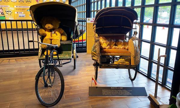 計程車博物館 印尼人力車