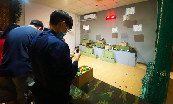 邱比準射擊博物館 射靶遊戲