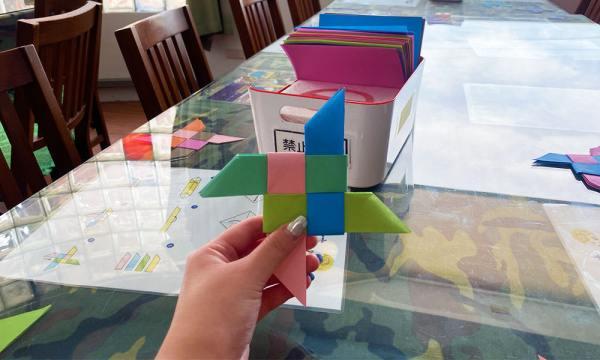 紙飛鏢完成品