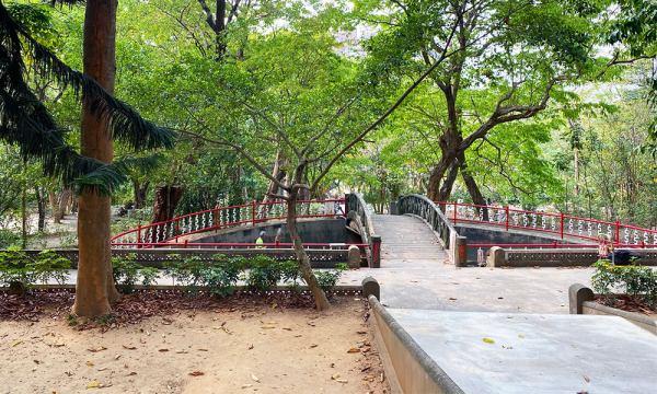 嘉義公園 中式庭園