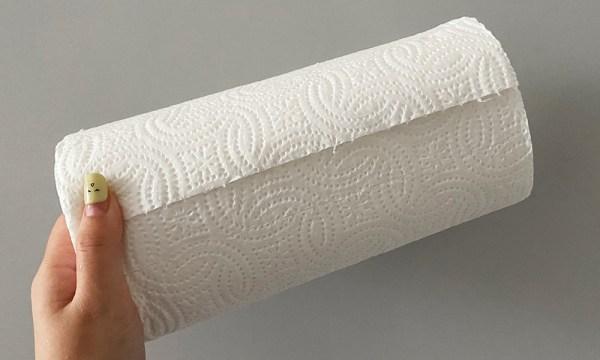 廚房紙巾拿來當墊材