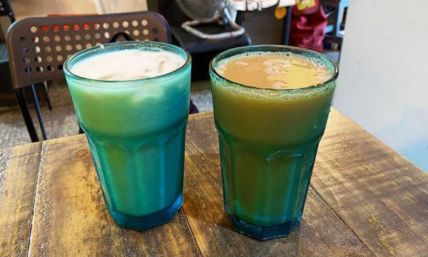 綠豆沙牛奶和奶茶