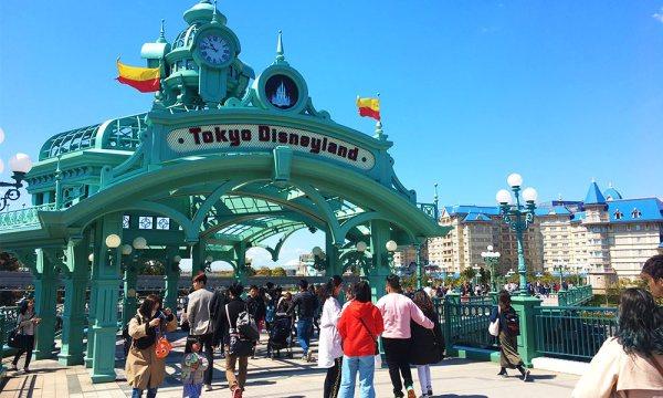 東京自由行 迪士尼樂園行程