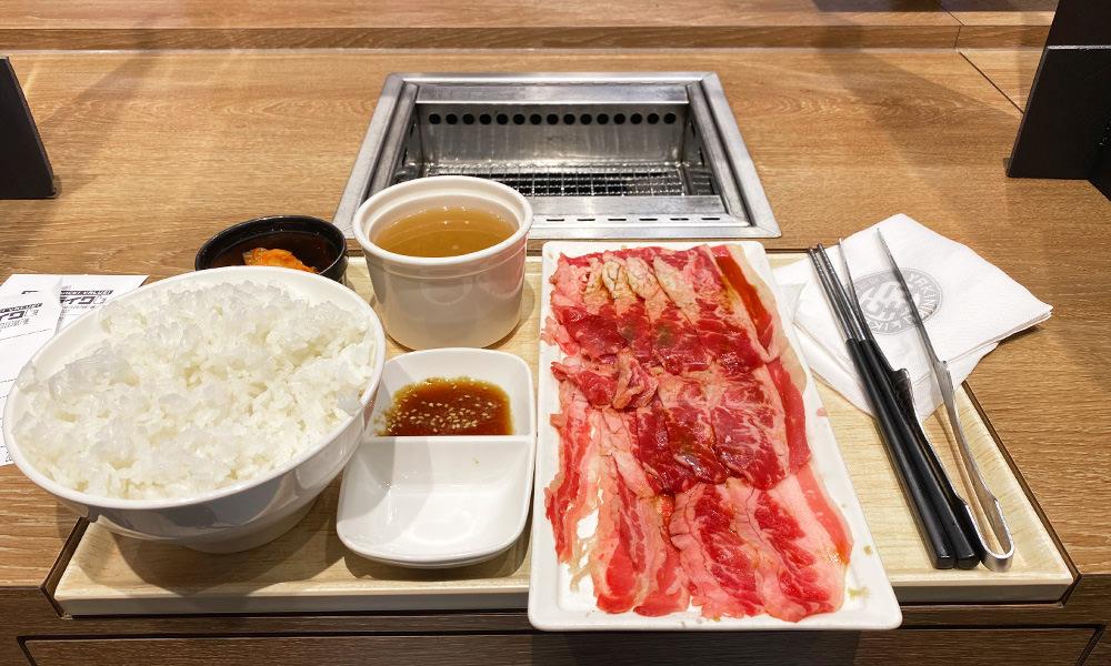 【燒肉LIKE】一個人也可以吃燒肉!套餐最低170元