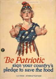 WW1 - Be Patriotic - Poster