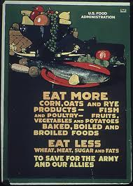 WWI - Eat More Corn - Poster