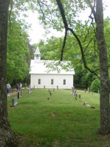 Great Smoky Moutain, Cades Cove, church, cemetery