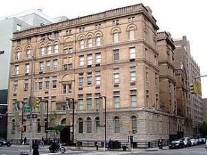 The original NY Eye & Ear Infirmary still stands.