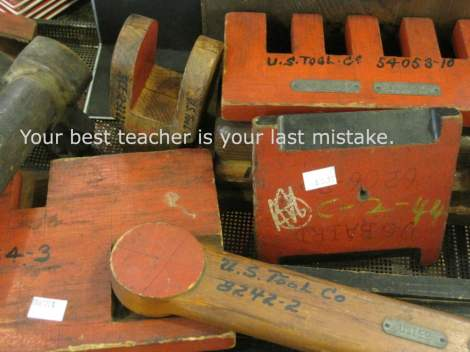 tools old best teacher