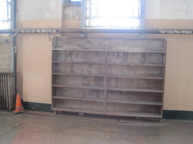 Alc library shelves