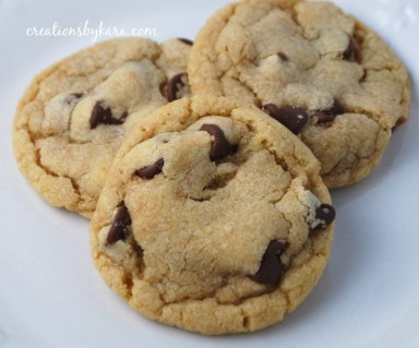 In my fantasy world I dip into a cookie jar filled with a never-ending supply of Toll House cookies.