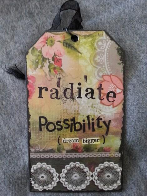 Radiate possibility