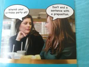 Birthday grammar