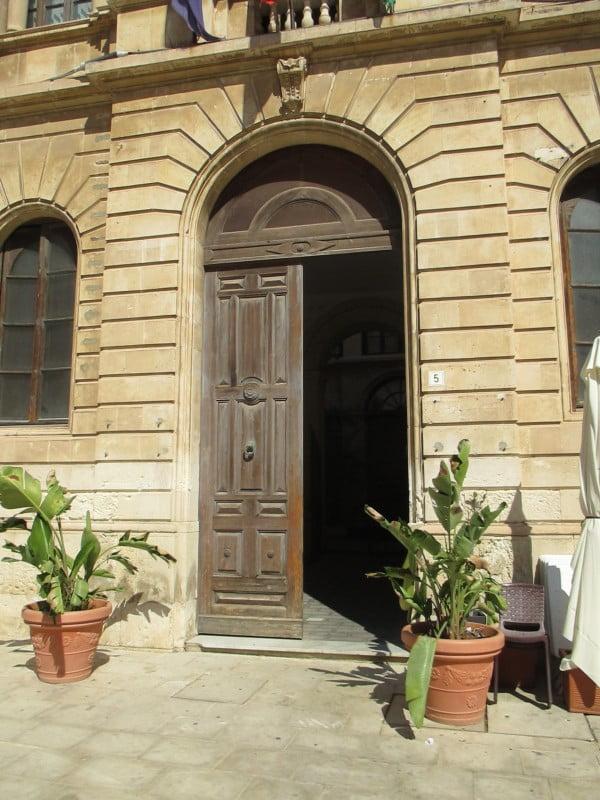 door in sun nice