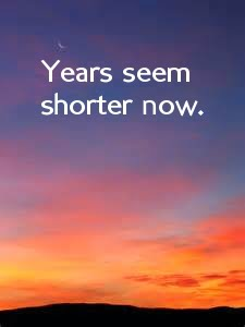 years-are-shorter