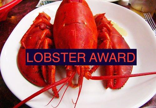 Lobster award