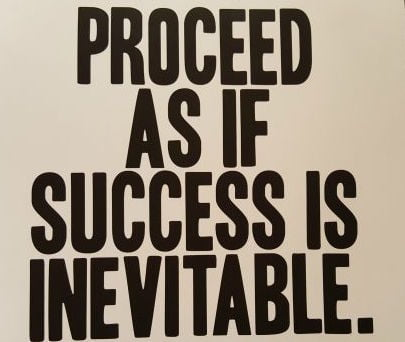 success inevitable
