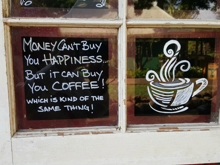 money coffee fb