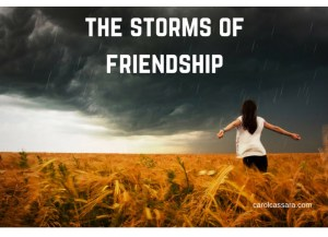 Weathering the storms of friendship