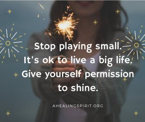 Why play small?