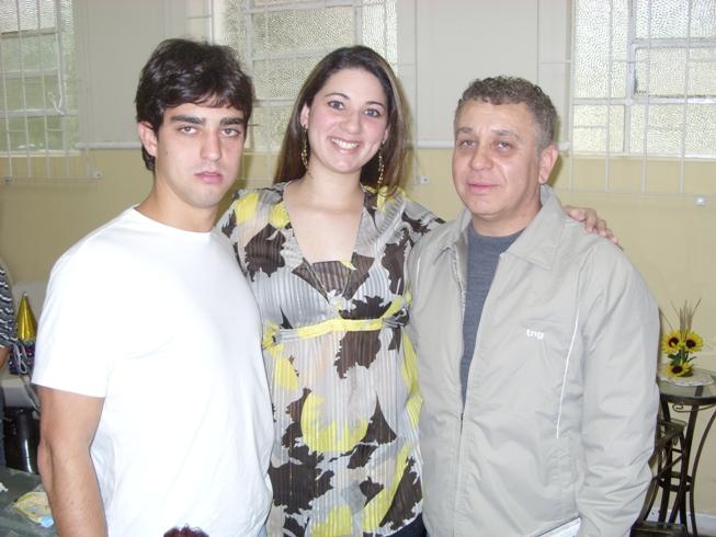 Ricardo Bueno, Carol Chelly e Bido
