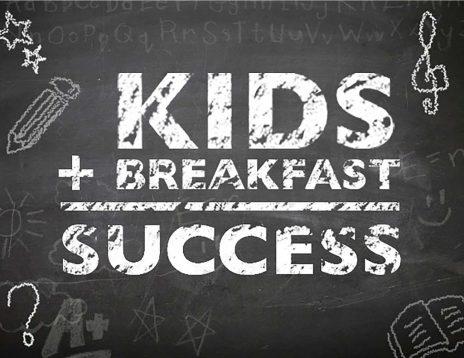 Kids Breakfast Success Chalkboard Pic