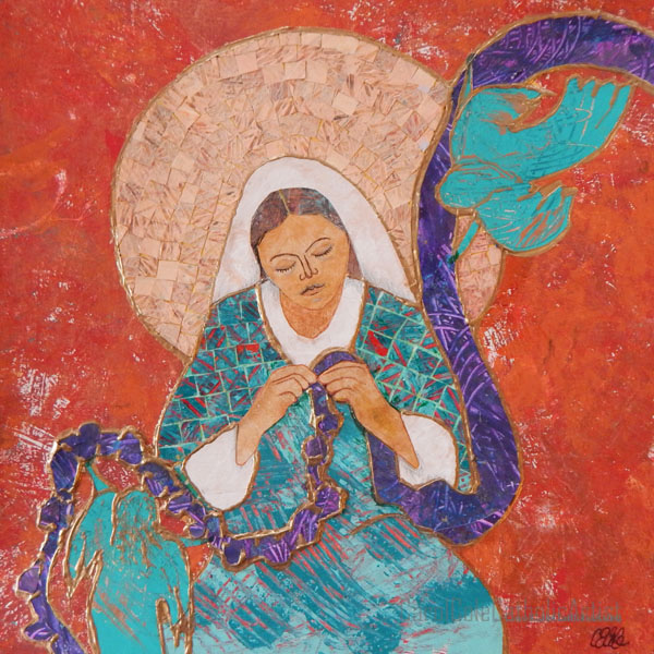 our lady undoer of knots artist carol cole