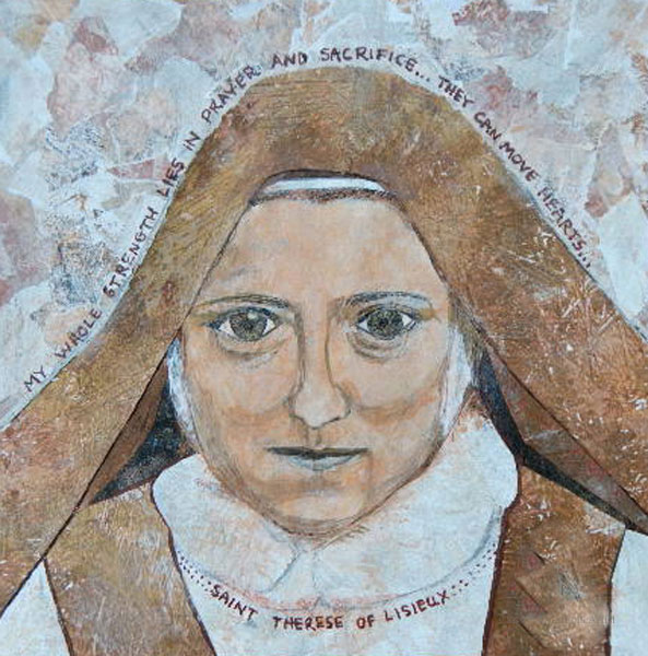 saint therese artist carol cole