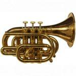 CarolBrass CPT-3000-GLS-Bb-AL Pocket Trumpet