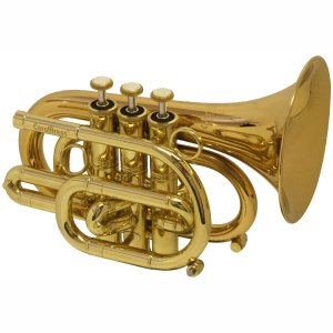 CarolBrass CPT-3000-GLS Pocket Trumpet
