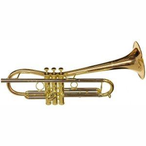 CarolBrass CTR-5280L-GLT(D) Euro Bell Bb Trumpet
