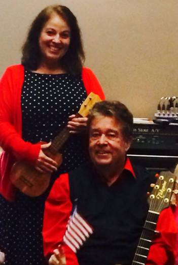 Singers/musicians Carol Dabney and Rod Ragsdale to sing at Arkansas Capital in Little Rock Dec 6 at 6pm