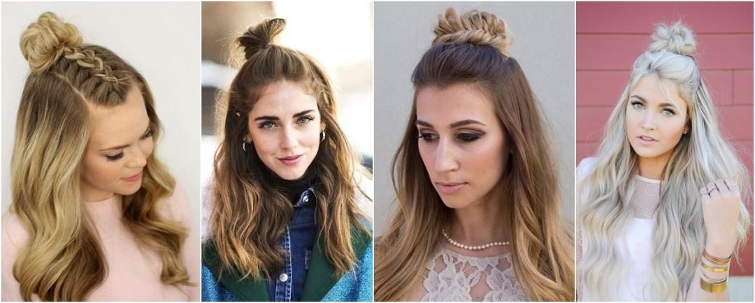tendência-half-up-top-knot-hair-com-trança-carol-doria-2015