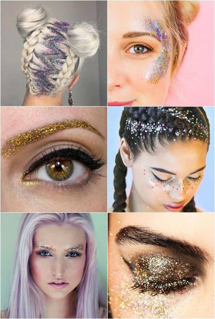 make carnaval glitter